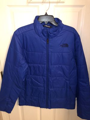 Brand new Men's size Medium North Face Water Resistant jacket. Cost $200 in stores but I'm selling for $100 (blue) for Sale in Castro Valley, CA