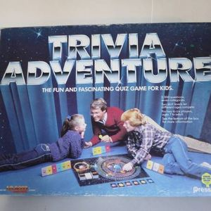 Vintage 1983 Trivia Adventure - fun and fascinating Quiz Game for kids for Sale in Oakdale, PA