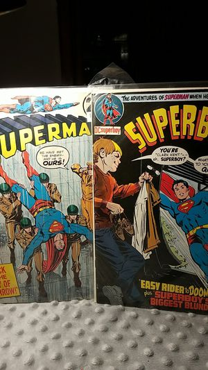 Superman number 265 and Superboy 170 1970s comic books for Sale in Monterey Park, CA