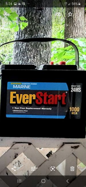 New Everstart Deepcycle Extreme Starting Power 1000 MCA Group Size 24MS only $65 wow for Sale in Lilburn, GA
