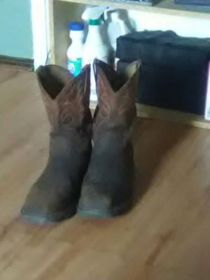 Ariat steel toe boots size 10 for Sale in San Angelo, TX