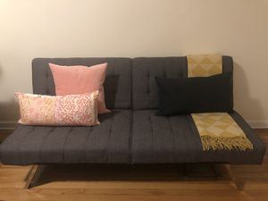 Grey Futon Couch Bed for Sale in New York, NY