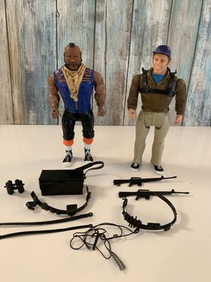 Vintage 1983 Canneli A-Team Action Figures for Sale in Durham, NC