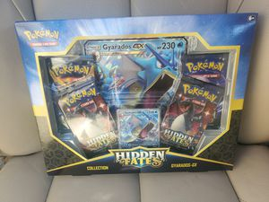 Hidden Fates Gyarados GX Pokemon Collection Box for Sale in Rutherford, NJ
