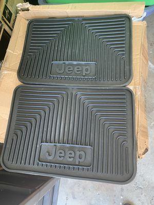 2011 Jeep Cherokee Laredo Rubber Mats Set for Sale in La Mirada, CA