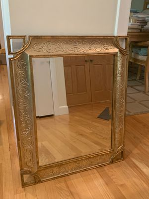 Large Antique Gold Mirror for Sale in Chapel Hill, NC