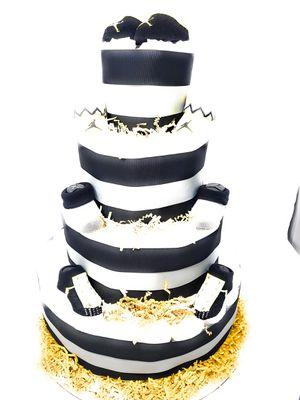 Black and Yellow Jordan diaper cake for Sale in Denver, CO