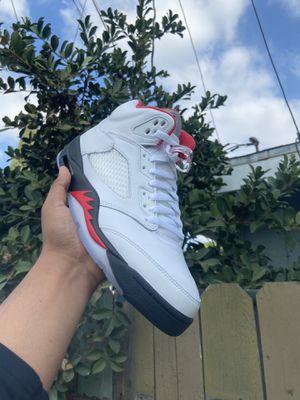 Jordan 5 fire red for Sale in Lynwood, CA