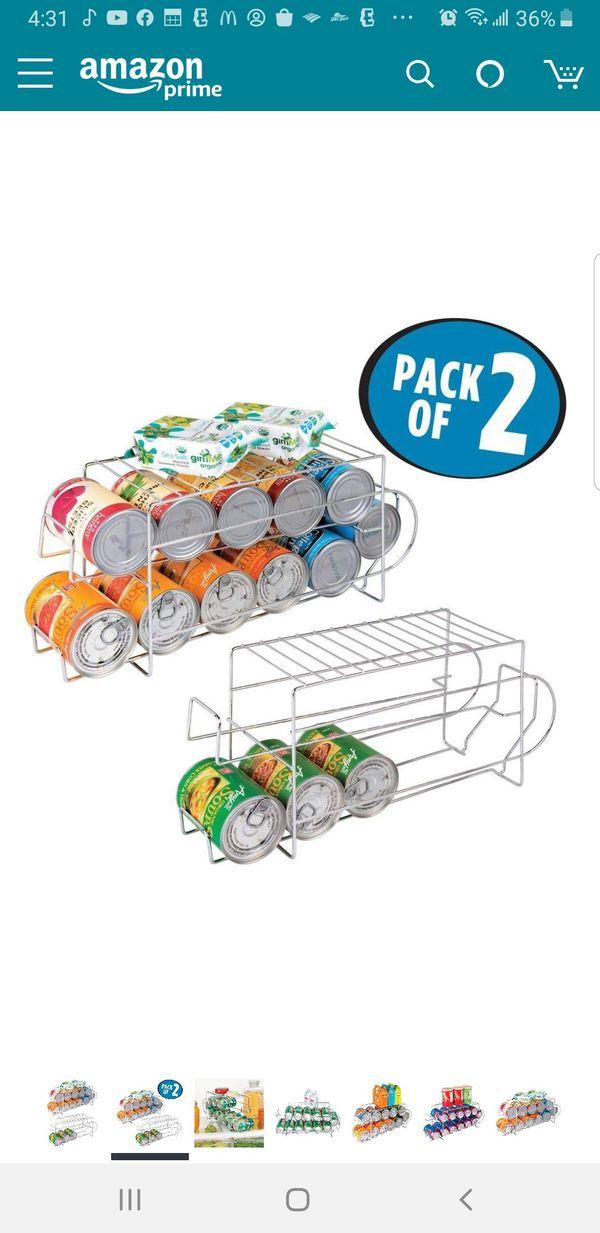 HX - 12 Can Dispenser Space Organizer, 2 Packs