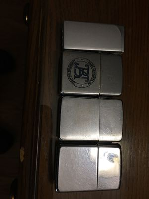 4. USED LIGHTERS 3. ARE ZIPPOS !! for Sale in Wilmington, MA