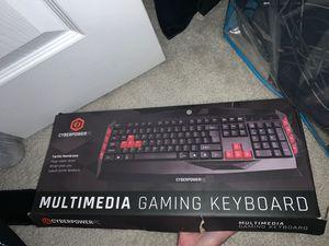 CyberPowerPC Gaming Keyboard 2019 Edition for Sale in Warwick, PA