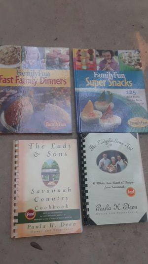 4 cook books for Sale in San Antonio, TX