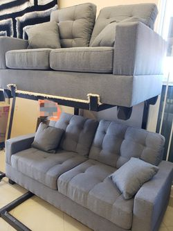 Sofa and Love Seat... Easy to apply on our website 📲💻👨💻👩💻 for Sale in Las Vegas,  NV