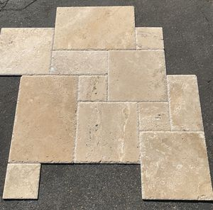 Classic Light Travertine Versailles Pattern Tile $2.19 sqft for Sale in Anaheim, CA