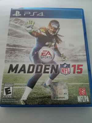 Madden 2015 (PS4) for Sale in Rowena, TX