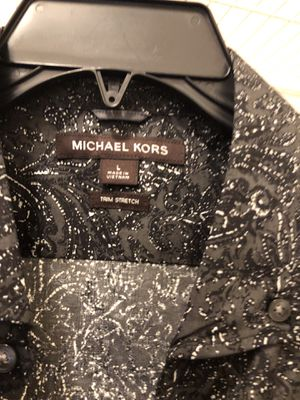 Micheal kors men's long sleeve dress shirt brand new with tag for Sale in Decatur, GA