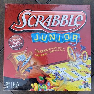 new and sealed scrabble junior game. for Sale in Long Beach, CA