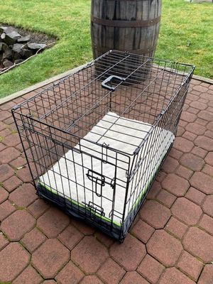 30 Inch Folding Dog Crate w/ Bed for Sale in Everett, WA