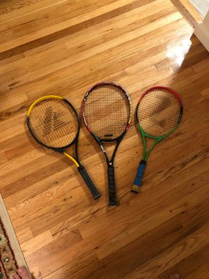 Some Tennis Rackets for Sale in Tinton Falls, NJ