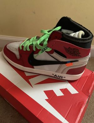 off white jordan 1 for Sale in Solsville, NY