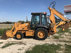 Case 580 Super L backhoe 4x4 extended hoe for Sale in Dallas, TX