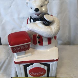 Coca-Cola Polar Bear Soda Fountain Jar for Sale in Wilmington, OH