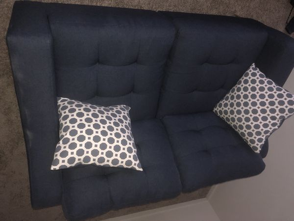 Living room 2 piece couch set