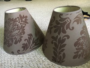 2 piece lamp covers/shades for Sale in Miami, FL