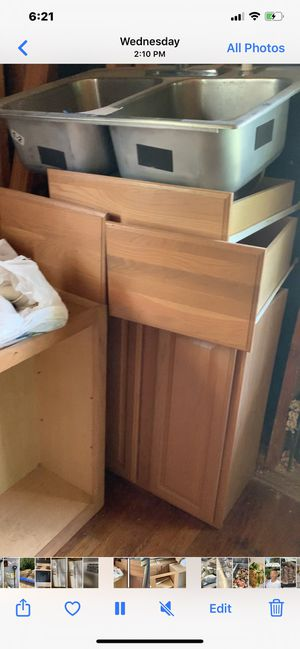 6 Kitchen cabinets for Sale in Raleigh, NC