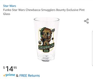 Chewbacca Collectible Pint Glass for Sale in Addison, TX