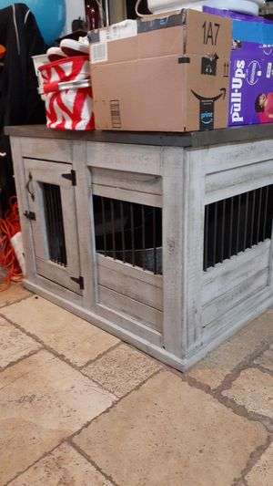 Dog crate / kennel sturdy solid wood for Sale in Grand Prairie, TX
