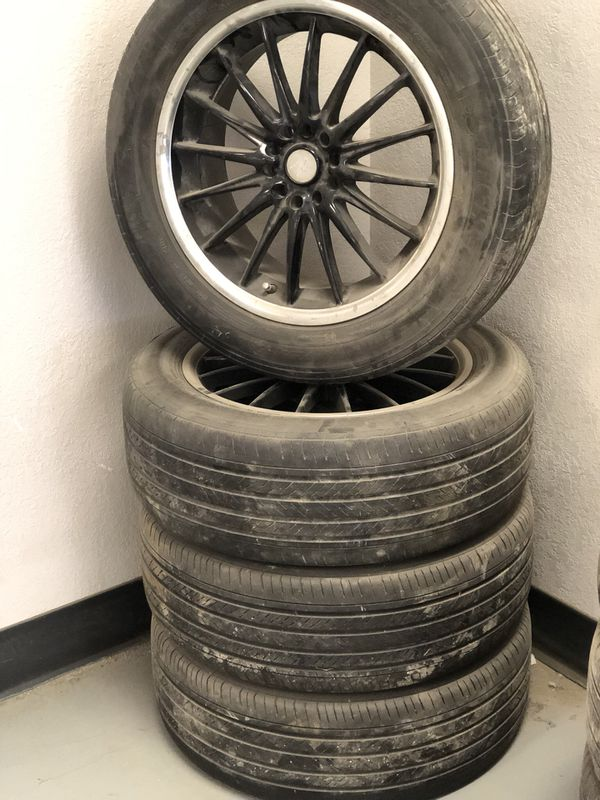 Size 18 wheels and tires