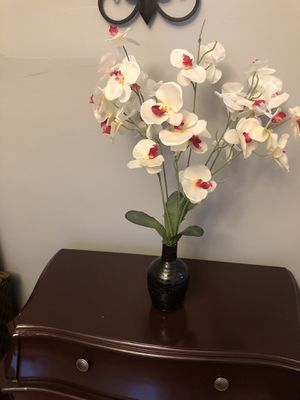 Artificial flower in vase for Sale in Baltimore, MD