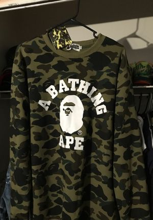 BAPE CAMO LONG SLEEVE for Sale in Tampa, FL