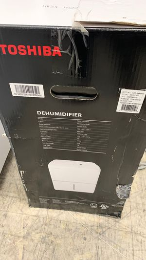 Toshiba Air Dehumidifiers!! Pick up only ! for Sale in Riverside, CA