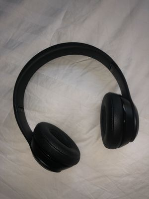 Beats Solo 3 Wireless Headphones, Matte Black for Sale in Portland, OR