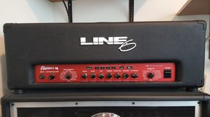 LINE 6 FLEXTONE II W/FLOORBOARD AND CARRYING CASE for Sale in Covina, CA