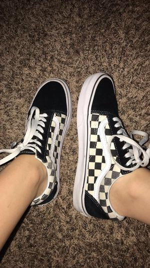 Old School Checkered Vans for Sale in Bothell, WA