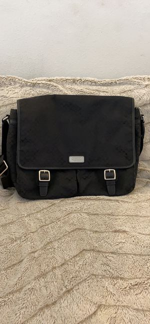 Coach Monogram Laptop Messenger Bag for Sale in Seattle, WA
