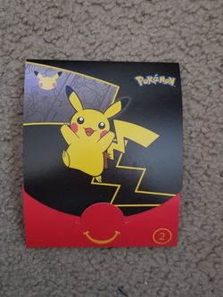 Pikachu McDonald's Cards and Box for Sale in Long Beach,  CA