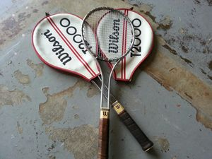 (2) Vintage Wilson T-2000 tennis racket Jimmy Connors model for Sale in O'Fallon, MO