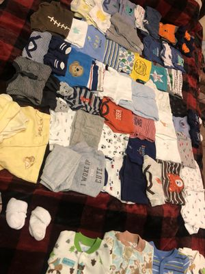 Baby boy clothes like new for Sale in Greensboro, NC
