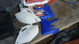 Yamaha dirt bike plastics for Sale in Carnation, WA