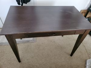 Wood desk for Sale in Irving, TX