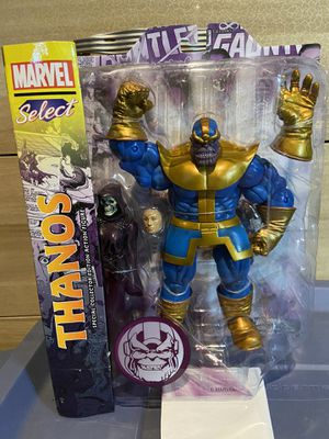 MARVEL SELECT'S THANOS and LADY DEATH in box action figure (new) Unopened. A great COLLECTIBLE for Sale in Los Angeles, CA