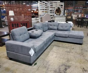 Special for Black Friday ‼ SALES Maston Light Gray Sectional 292 for Sale in Jessup, MD