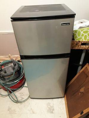 Mini fridge stainless steel appliance for Sale in San Antonio, TX