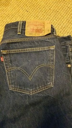501 Levi's Jeans Dark Navy for Sale in Brooklyn, NY