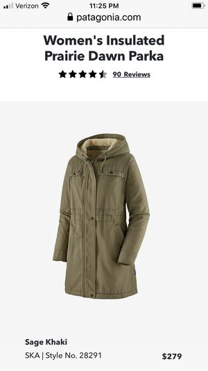 Patagonia XL Women's Parka $100 for Sale in Washington, DC
