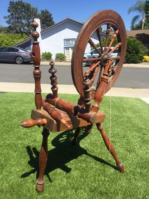 1800s Antique spinning wheel (negotiable) for Sale, used for sale  Vista, CA